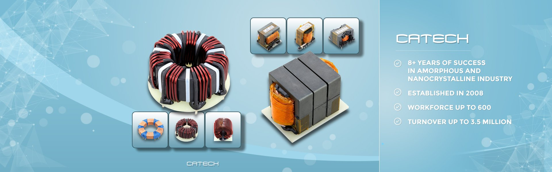 CT core supplier china